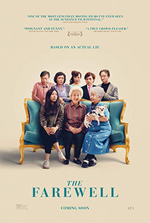 Movie poster from The Farewell